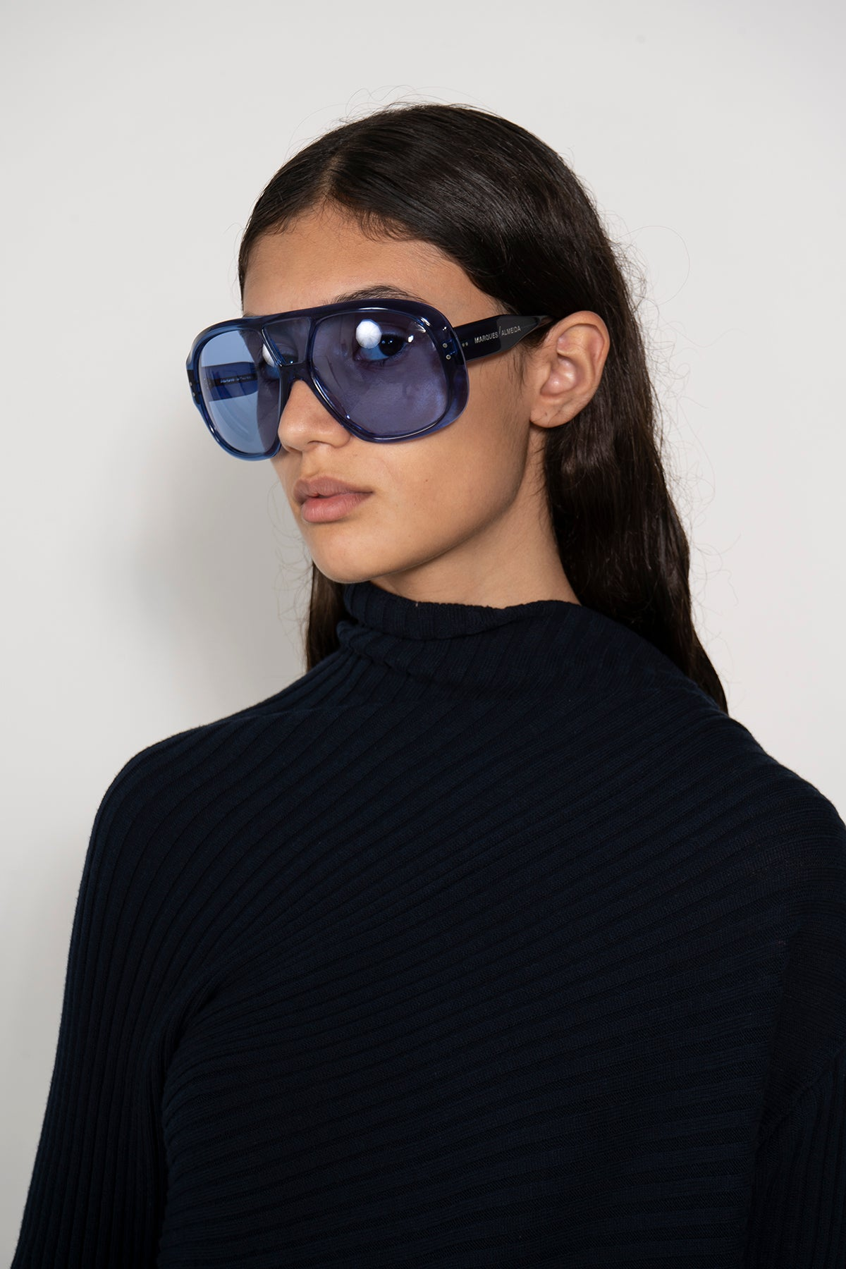 BLUE AVIATOR SUNGLASSES MARQUES ALMEIDA