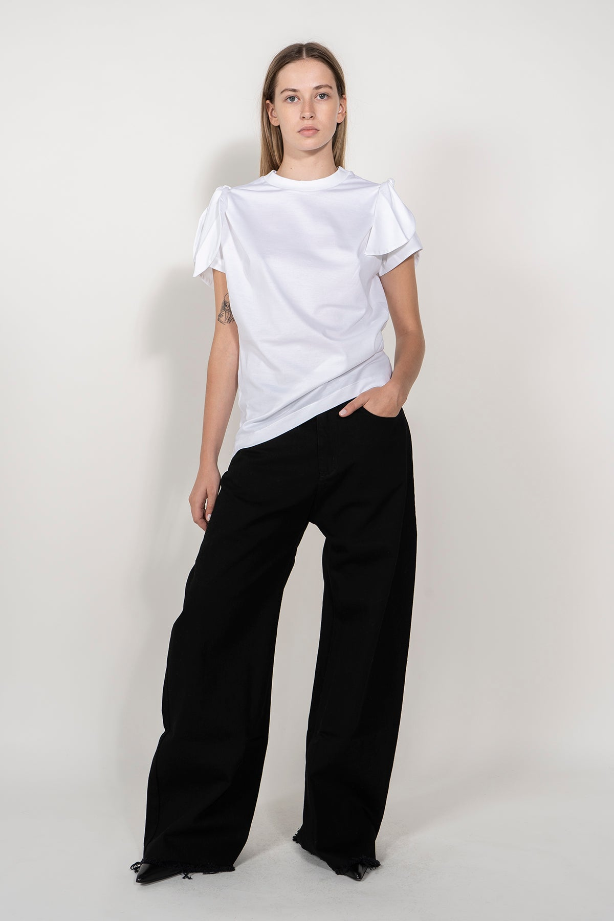 KNOT SLEEVE T-SHIRT marques almeida