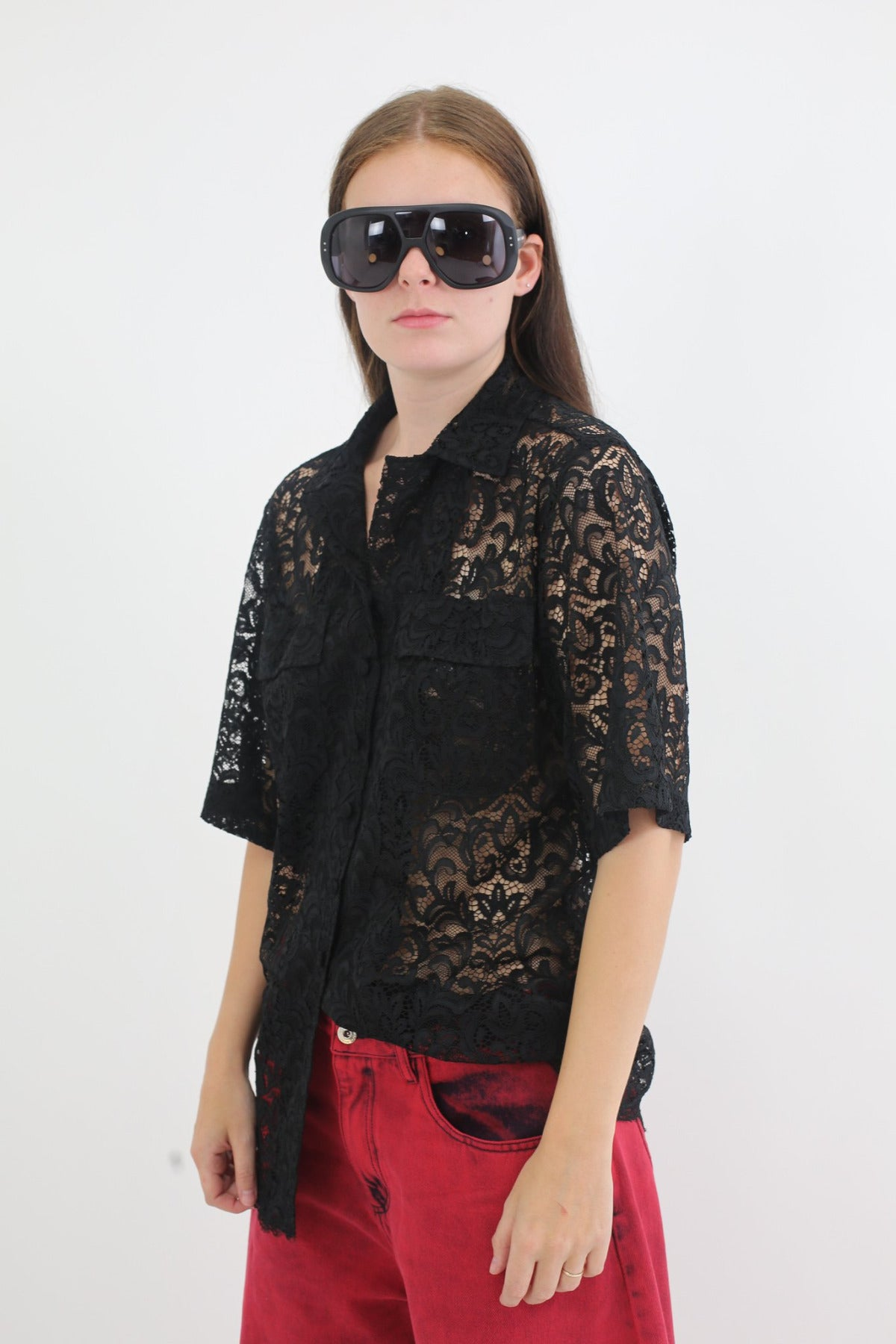 SAFARI LACE SHIRT - marques-almeida-dev
