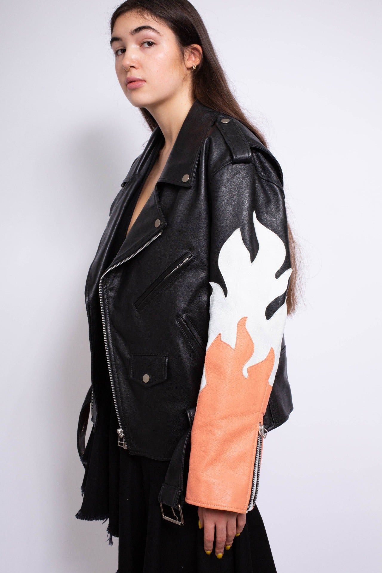 FLAME BIKER JACKET - marques-almeida-dev