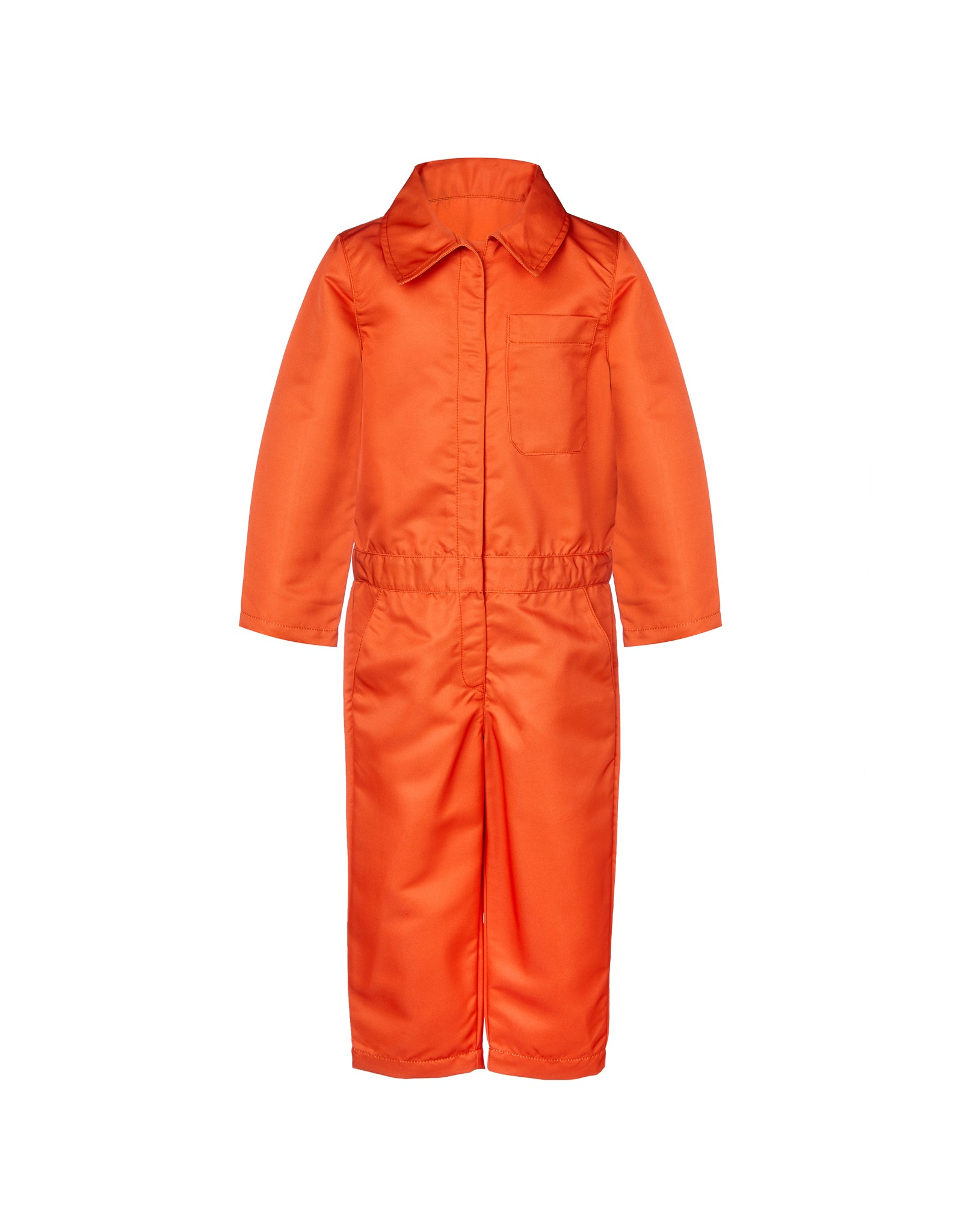 WORKWEAR JUMPSUIT IN ORANGE
