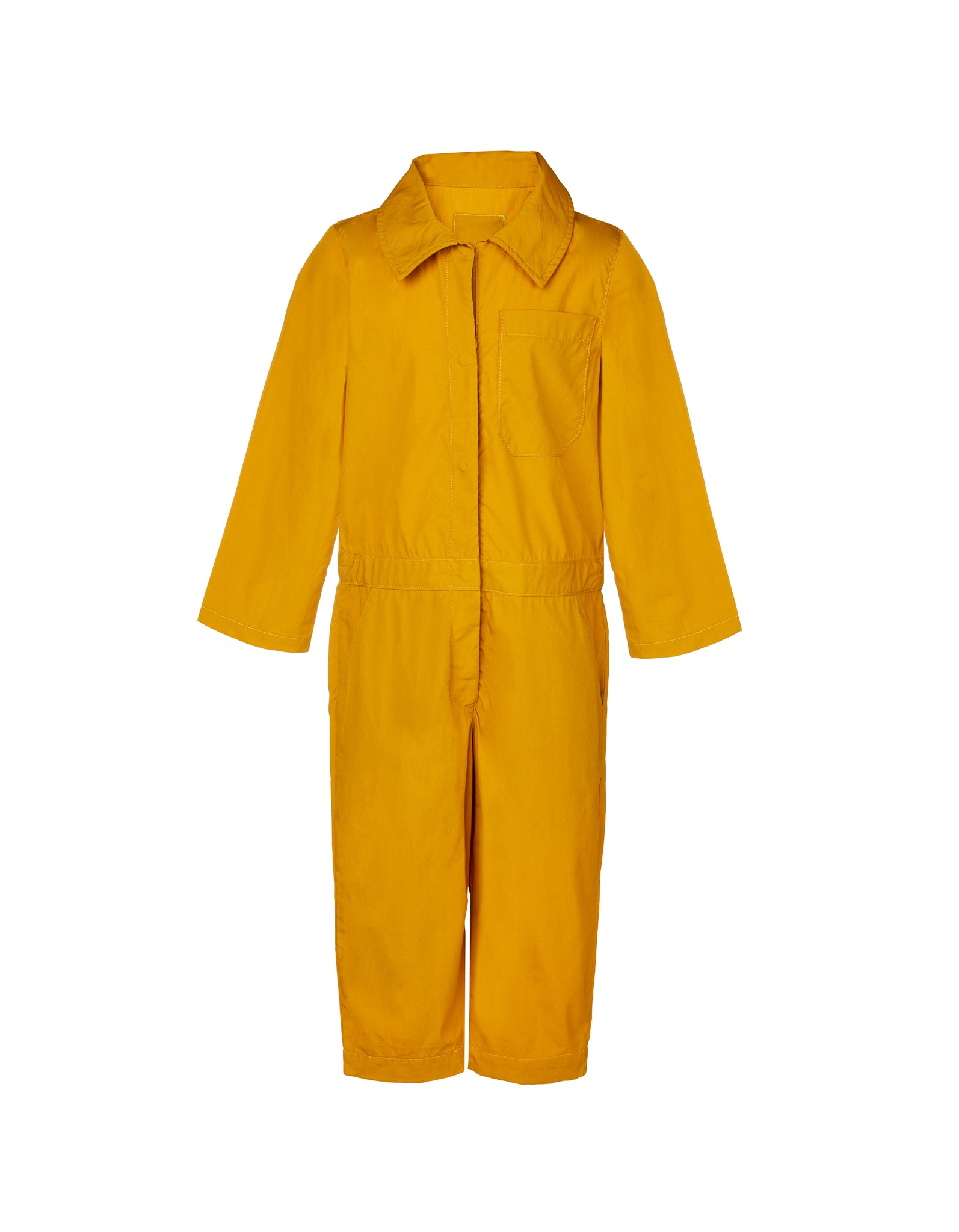 WORKWEAR JUMPSUIT IN OCHRE