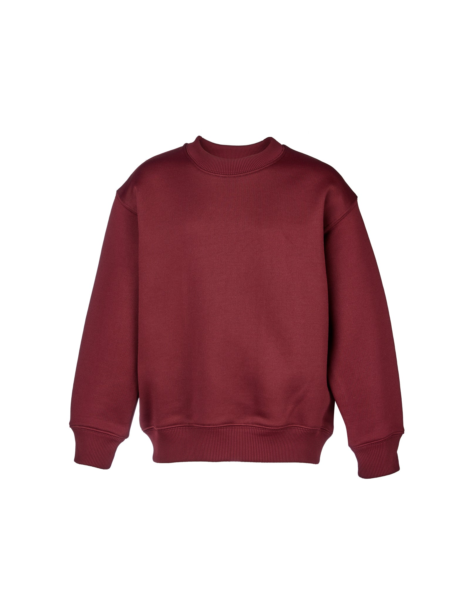 M'A KIDS CREW NECK IN BURGUNDY