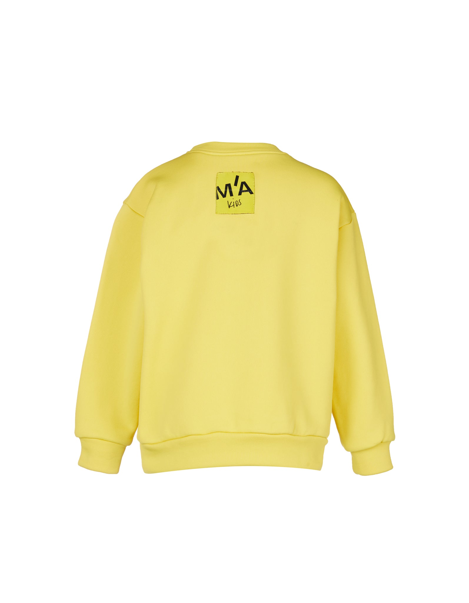 EMBROIDERED CREW NECK IN YELLOW