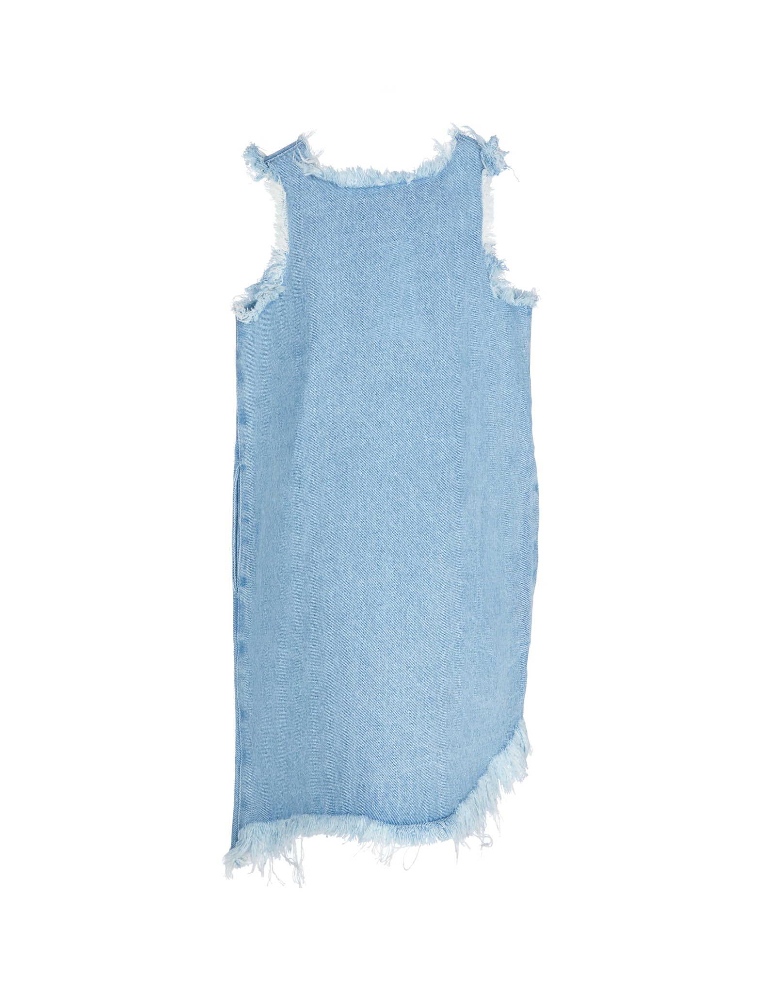 DENIM SLEEVELESS DRESS