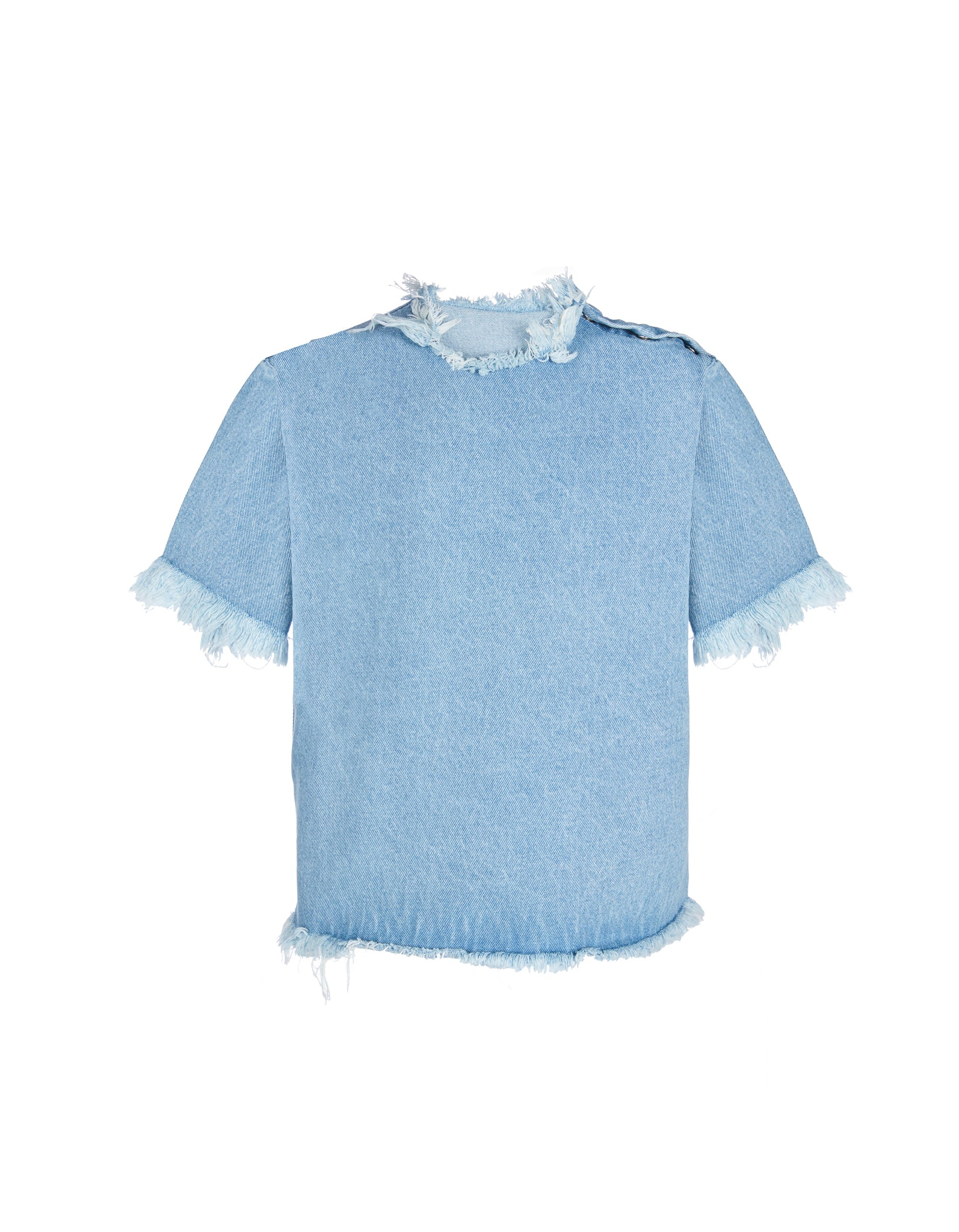 M'A KIDS DENIM OVERSIZED T-SHIRT