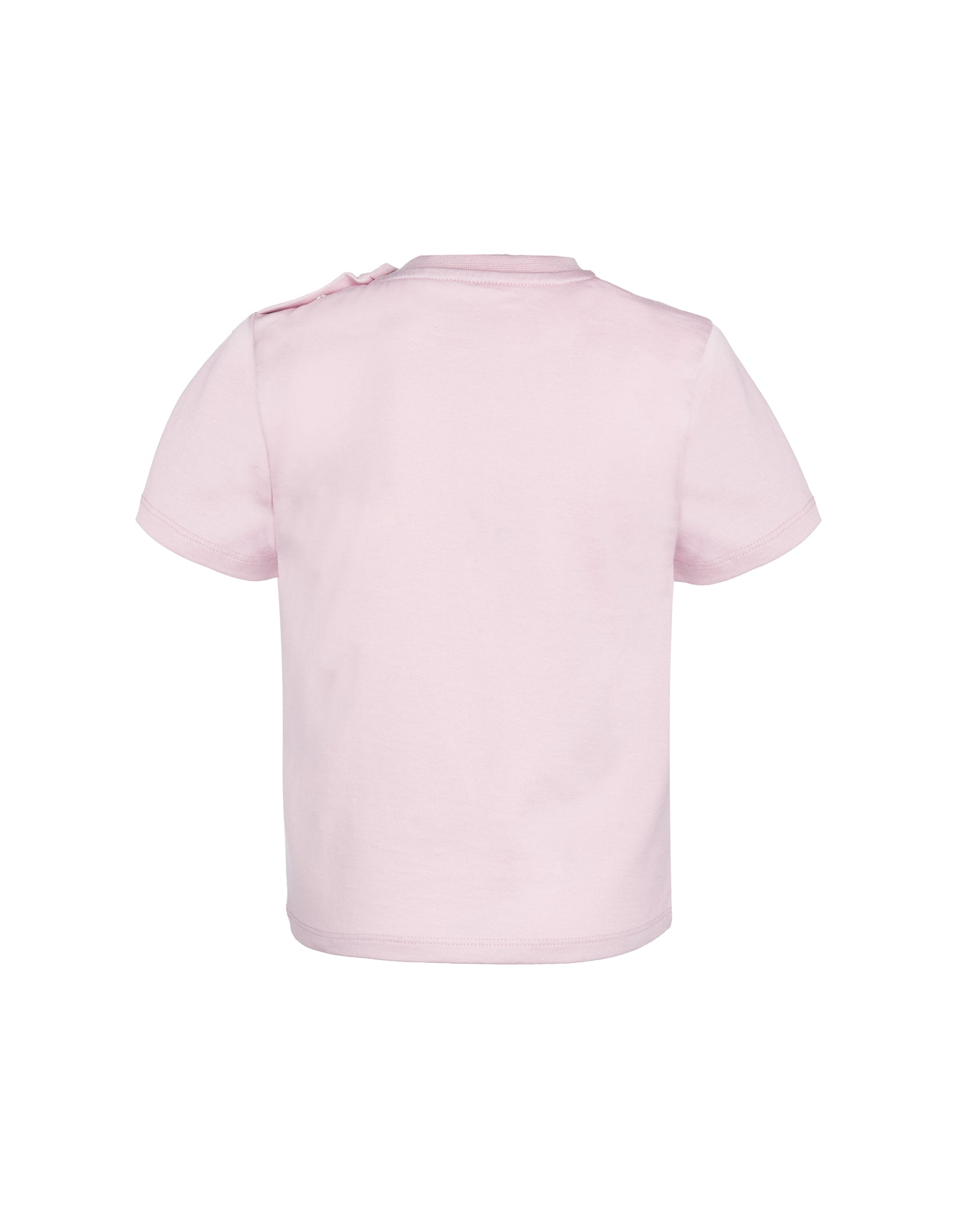 JERSEY EMBROIDERED CAP SLEEVE TOP IN PINK