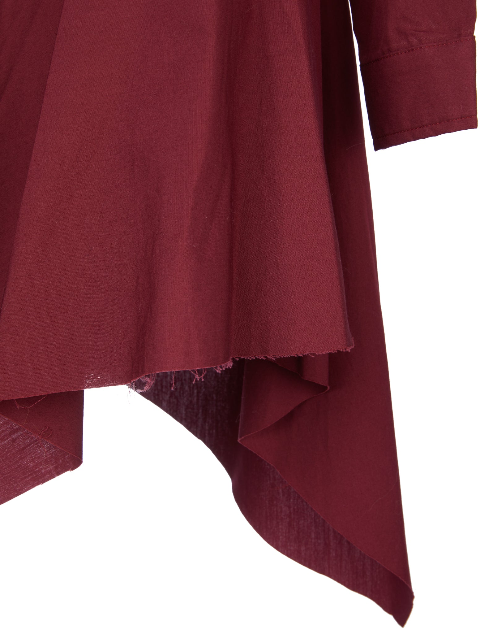 M'A KIDS SHIRT DRESS IN BURGUNDY