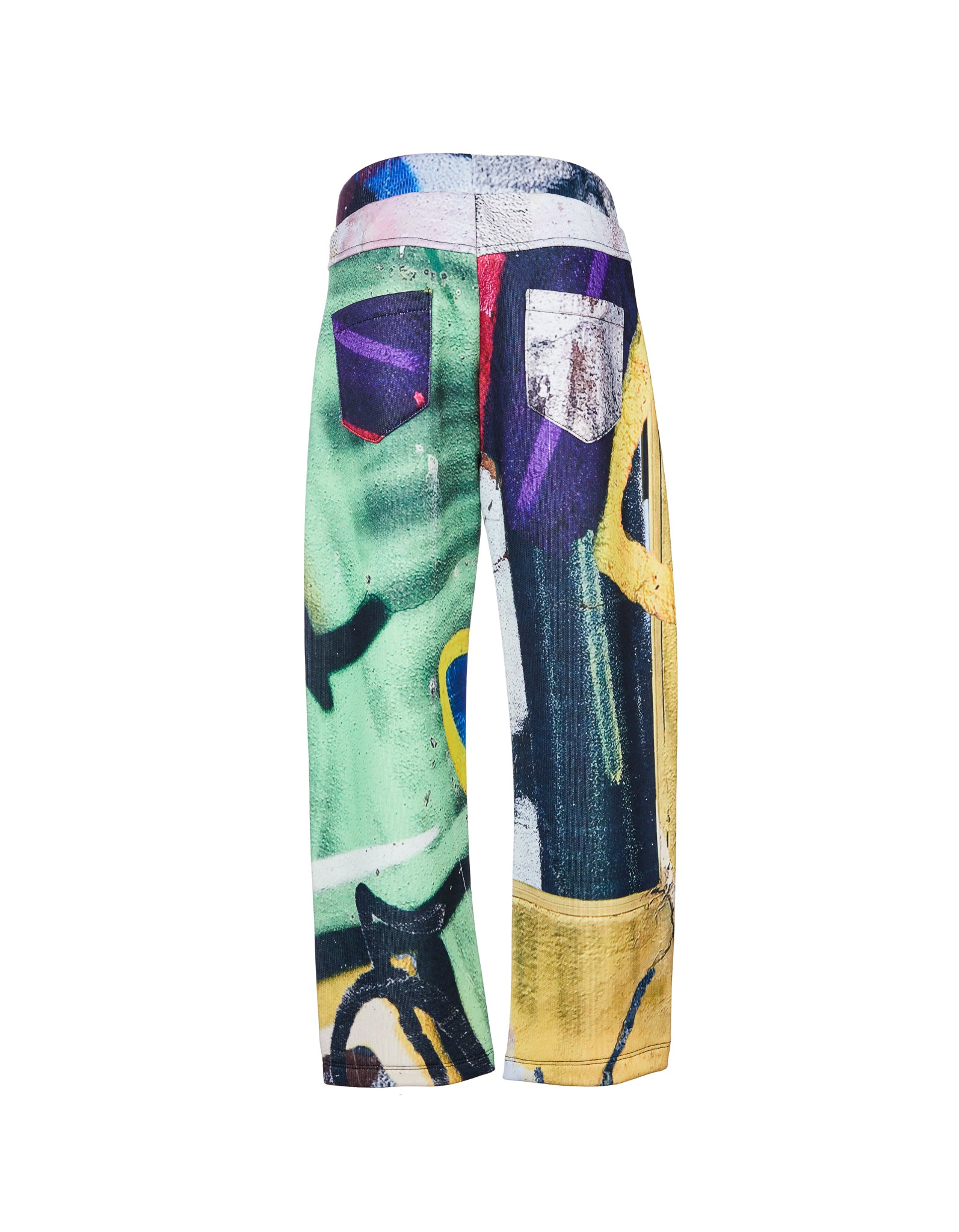 BAGGY TROUSERS IN BRIGHT PRINT