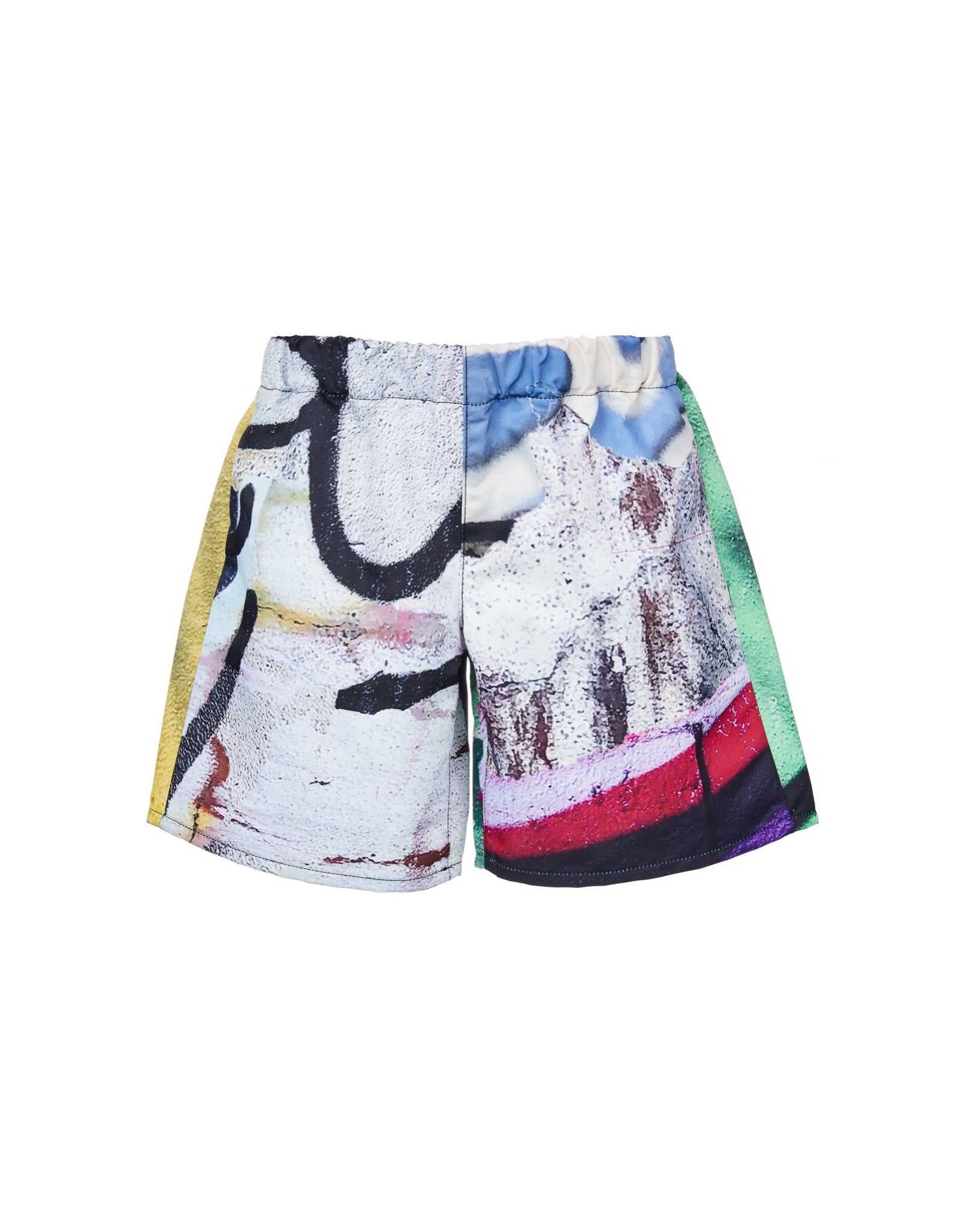 M'A KIDS CLASSIC SHORTS IN BRIGHT PRINT