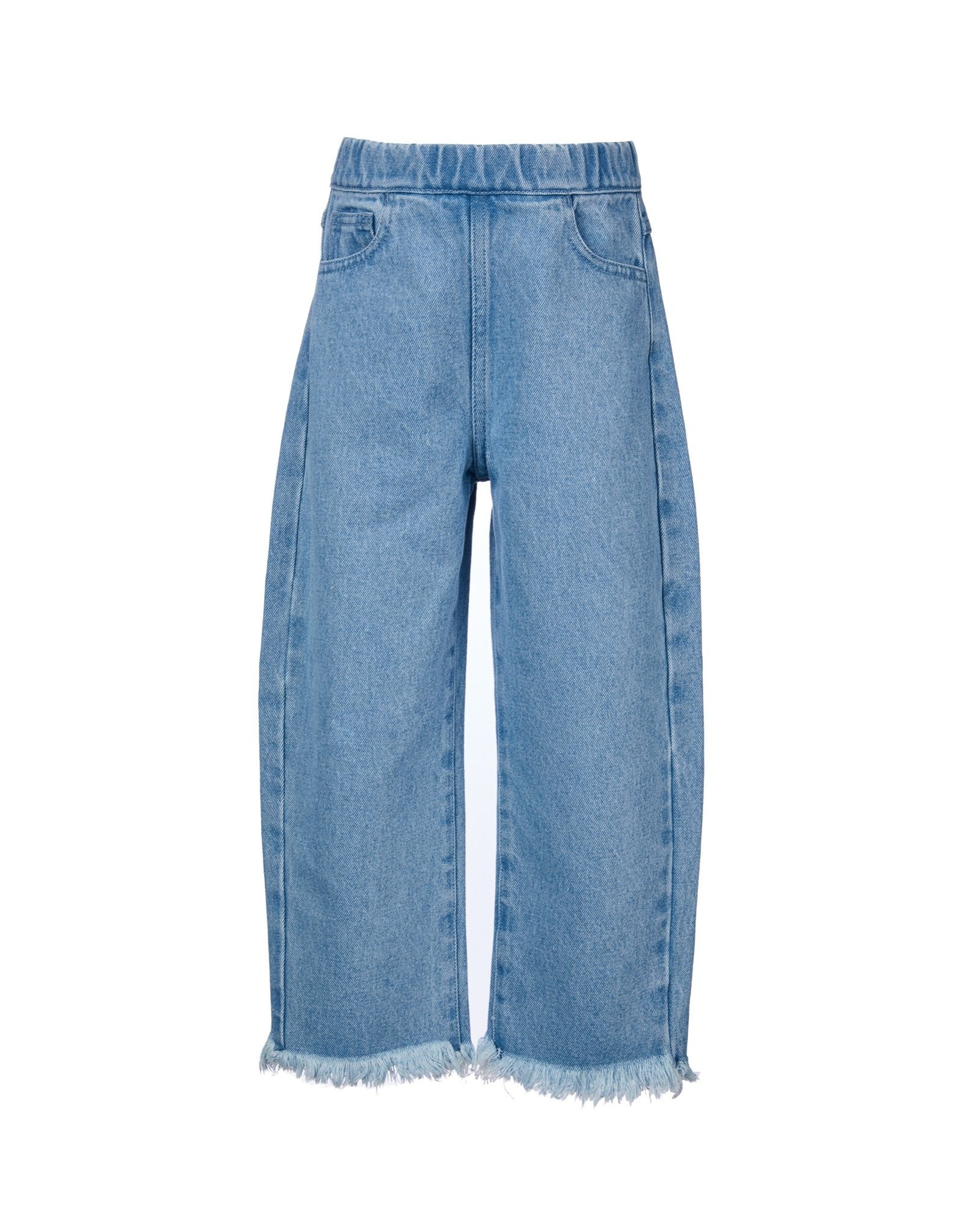 DENIM BAGGY TROUSERS