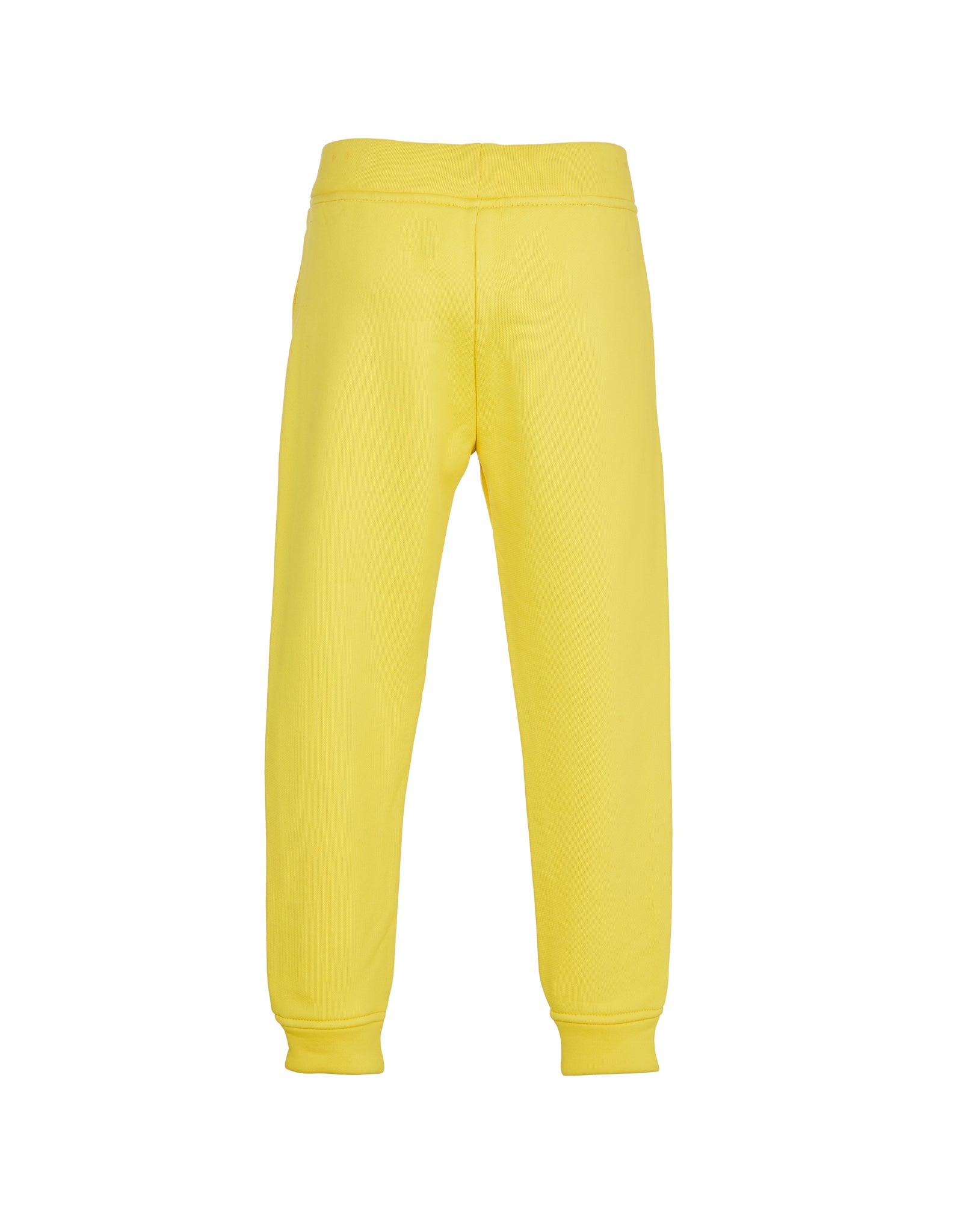 ELASTIC CUFF TROUSERS IN YELLOW