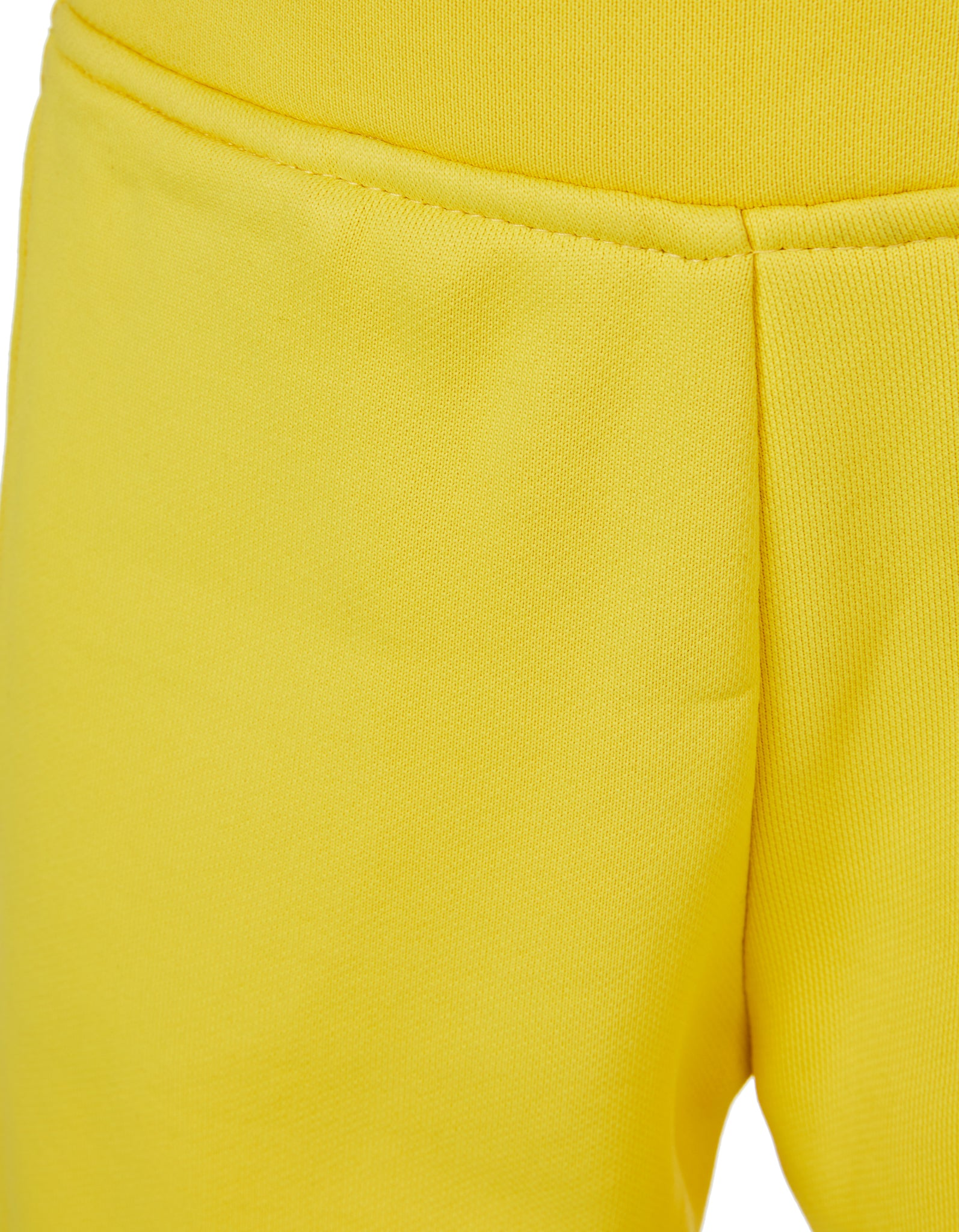 M'A KIDS ELASTIC CUFF TROUSERS IN YELLOW