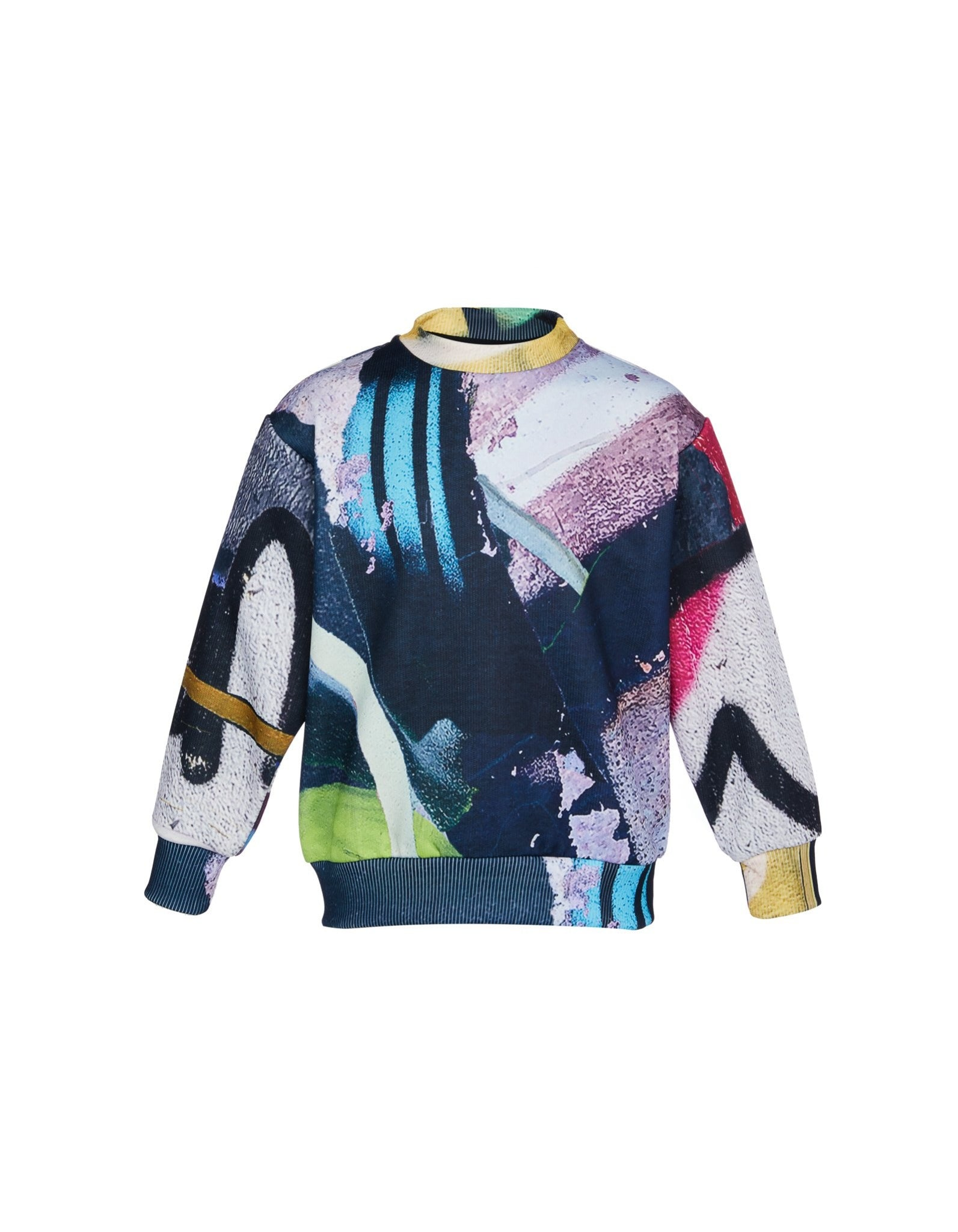 M'A KIDS CREW NECK IN PASTEL PRINT