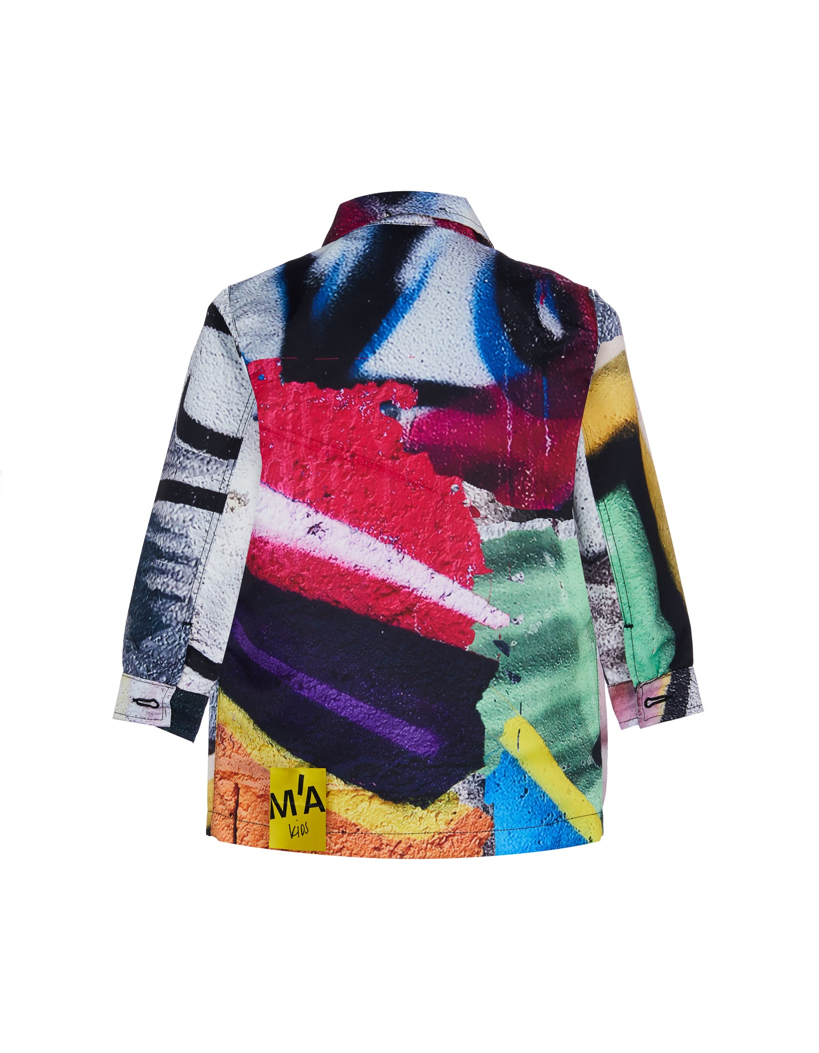 WORKWEAR JACKET IN BRIGHT PRINT