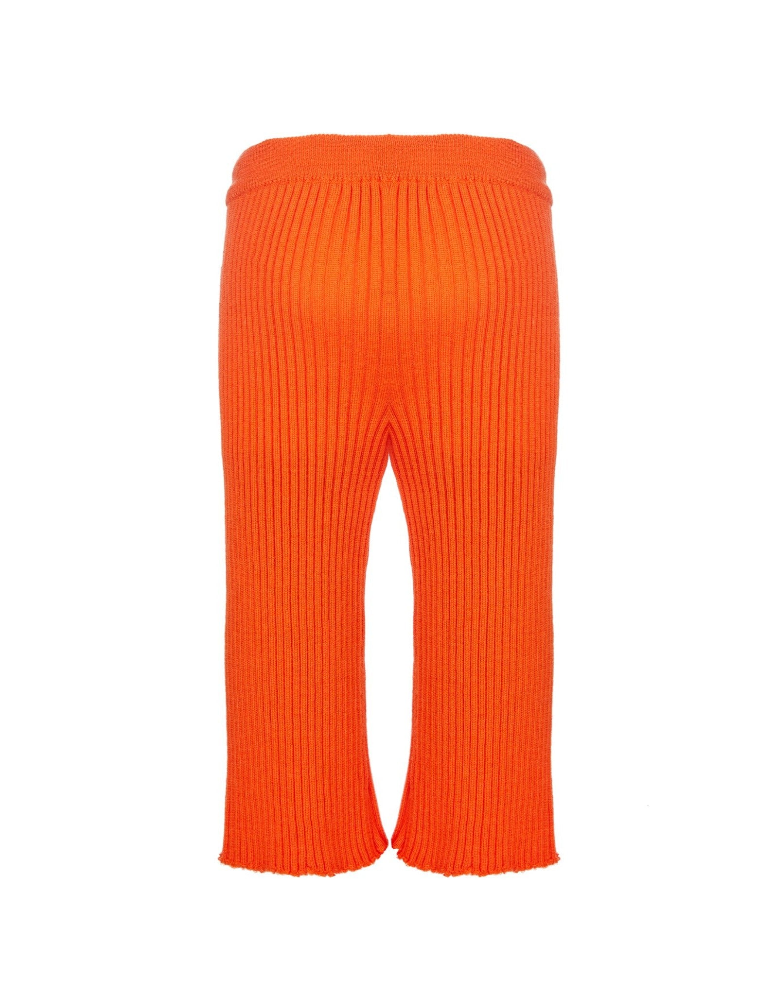 WAISTBAND TROUSERS IN ORANGE