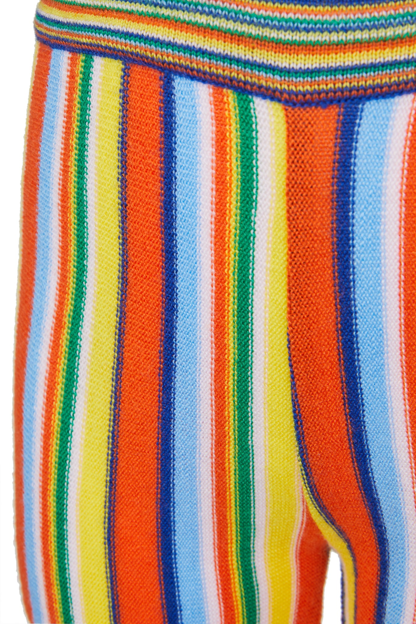 WAISTBAND TROUSERS IN MULTI STRIPE