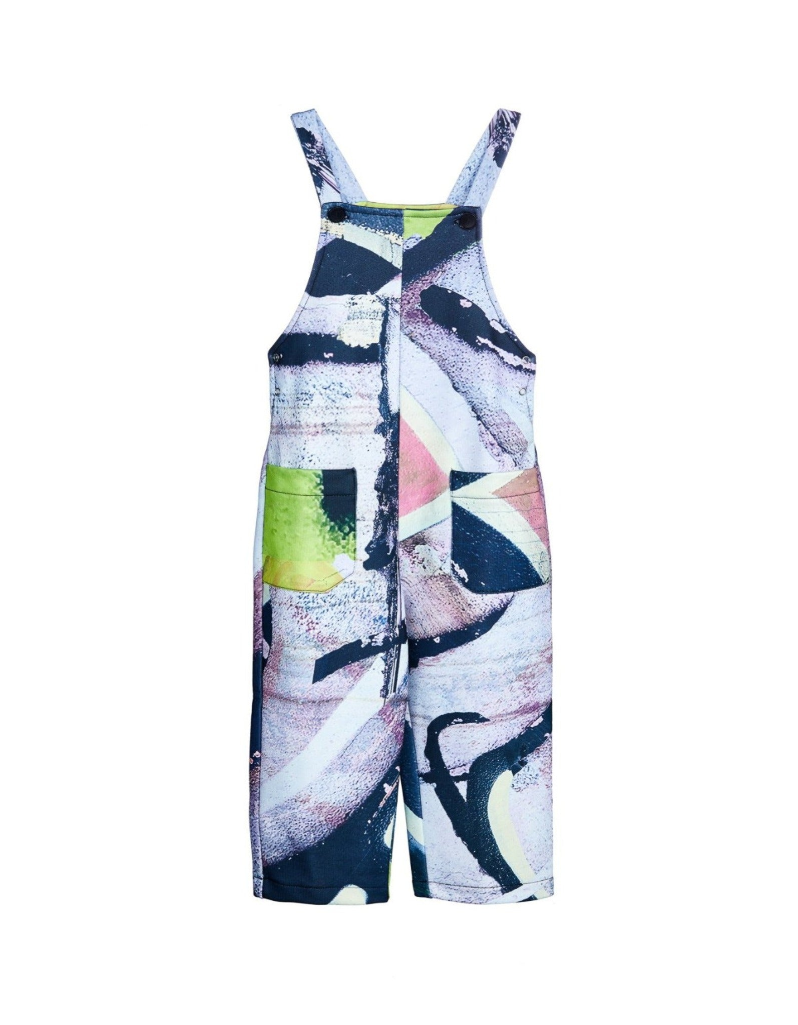 M'A KIDS JUMPSUIT IN PASTEL PRINT
