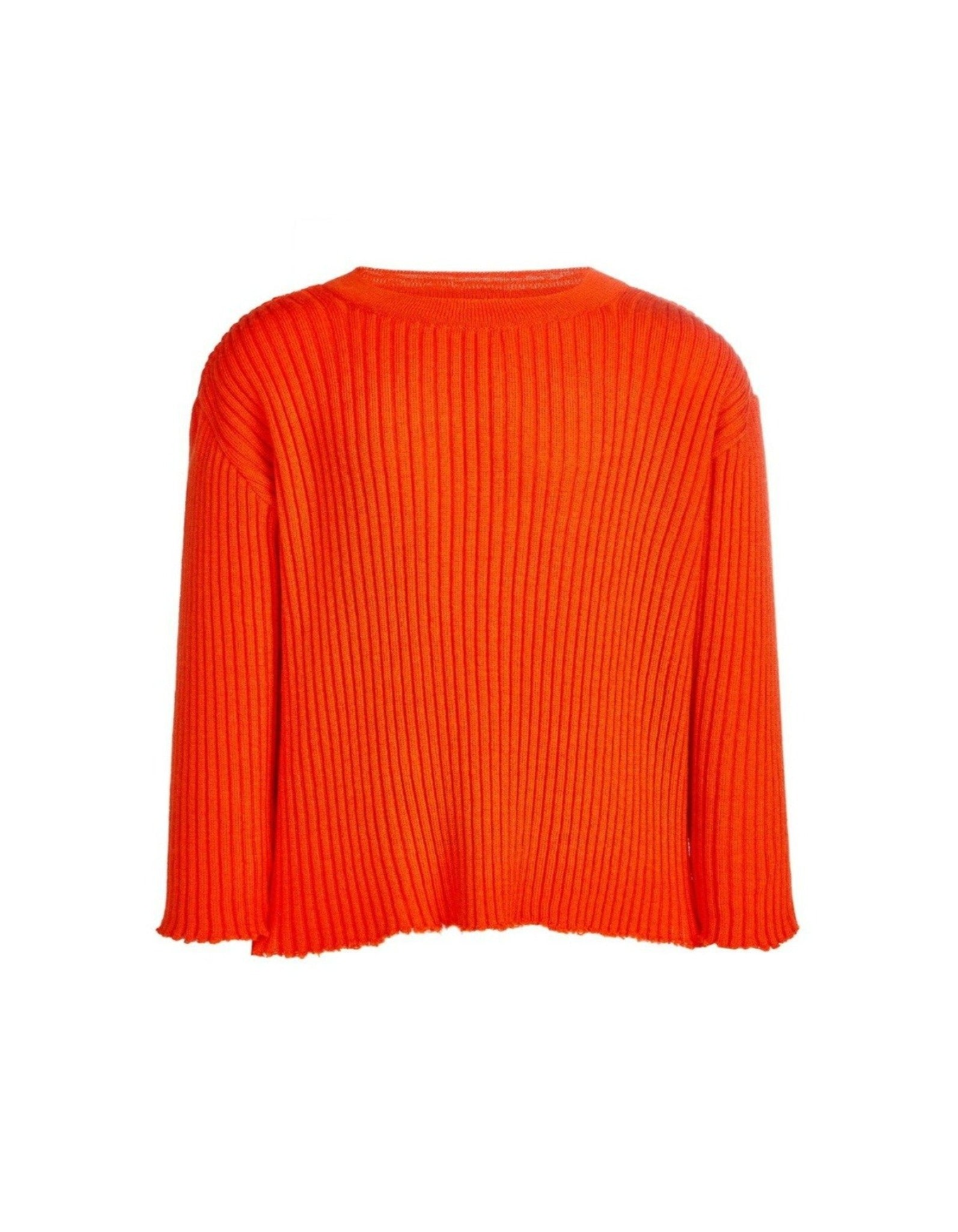 CREW NECK IN ORANGE