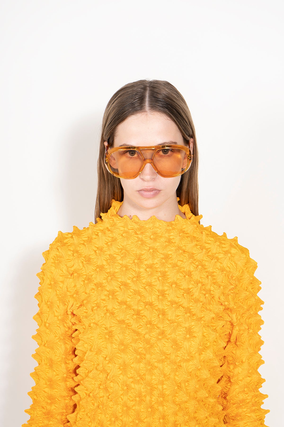 ORANGE AVIATOR SUNGLASSES MARQUES ALMEIDA