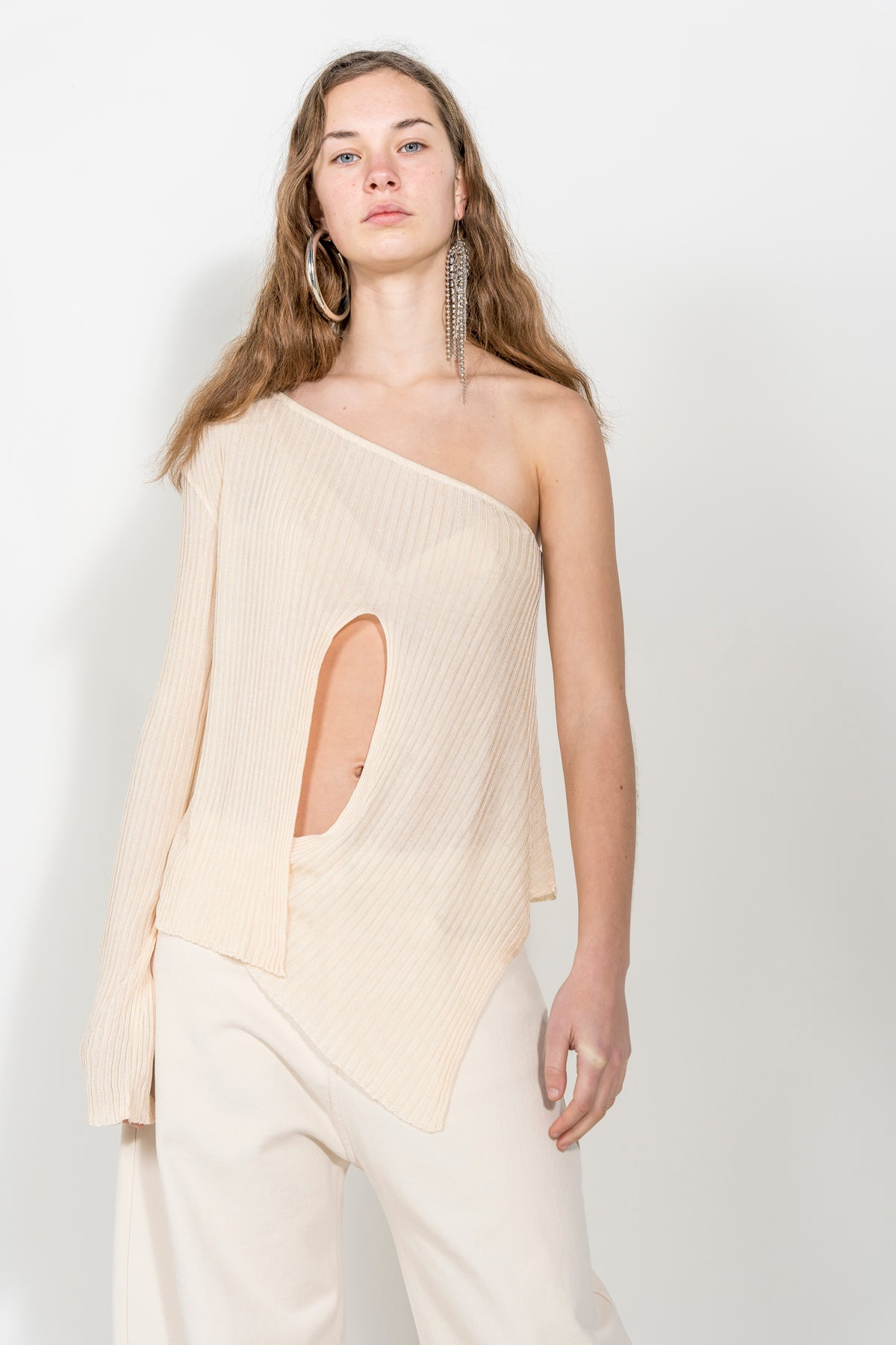ONE SHOULDER TOP marques-almeida