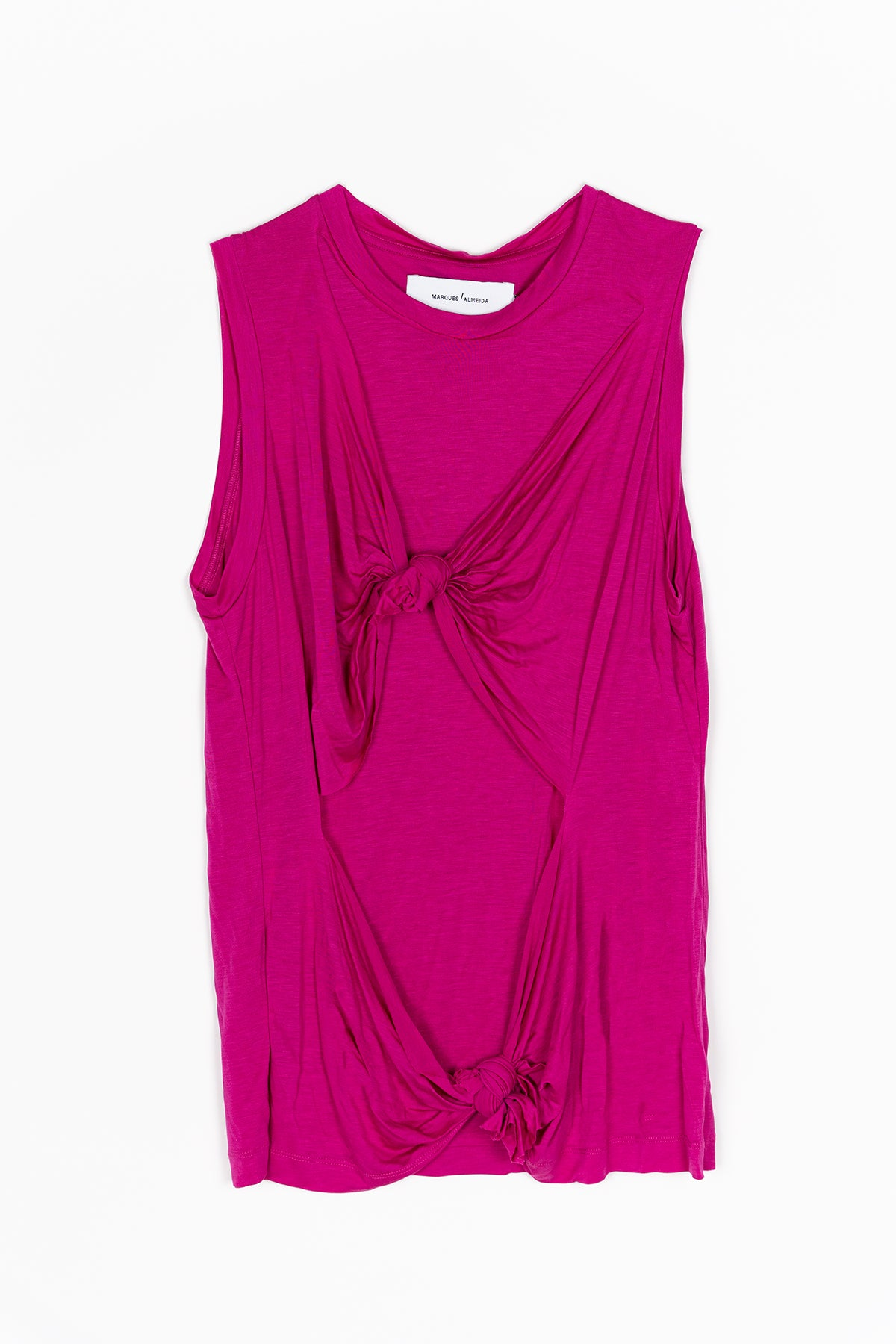 DOUBLE KNOT SLEEVELESS T-SHIRT