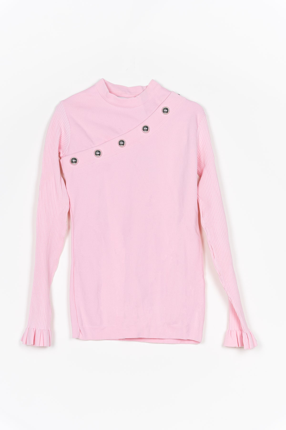 PINK SNAP JUMPER