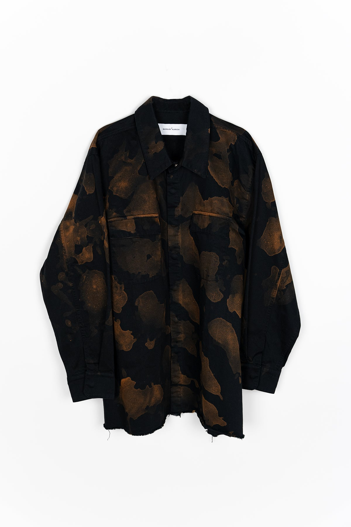 BLEACHED OVERSHIRT