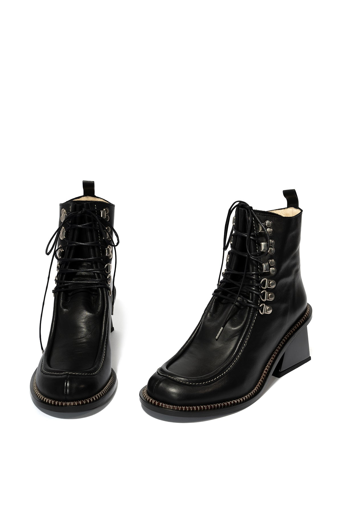 marques almeida BLACK M'A HEEL BOOT
