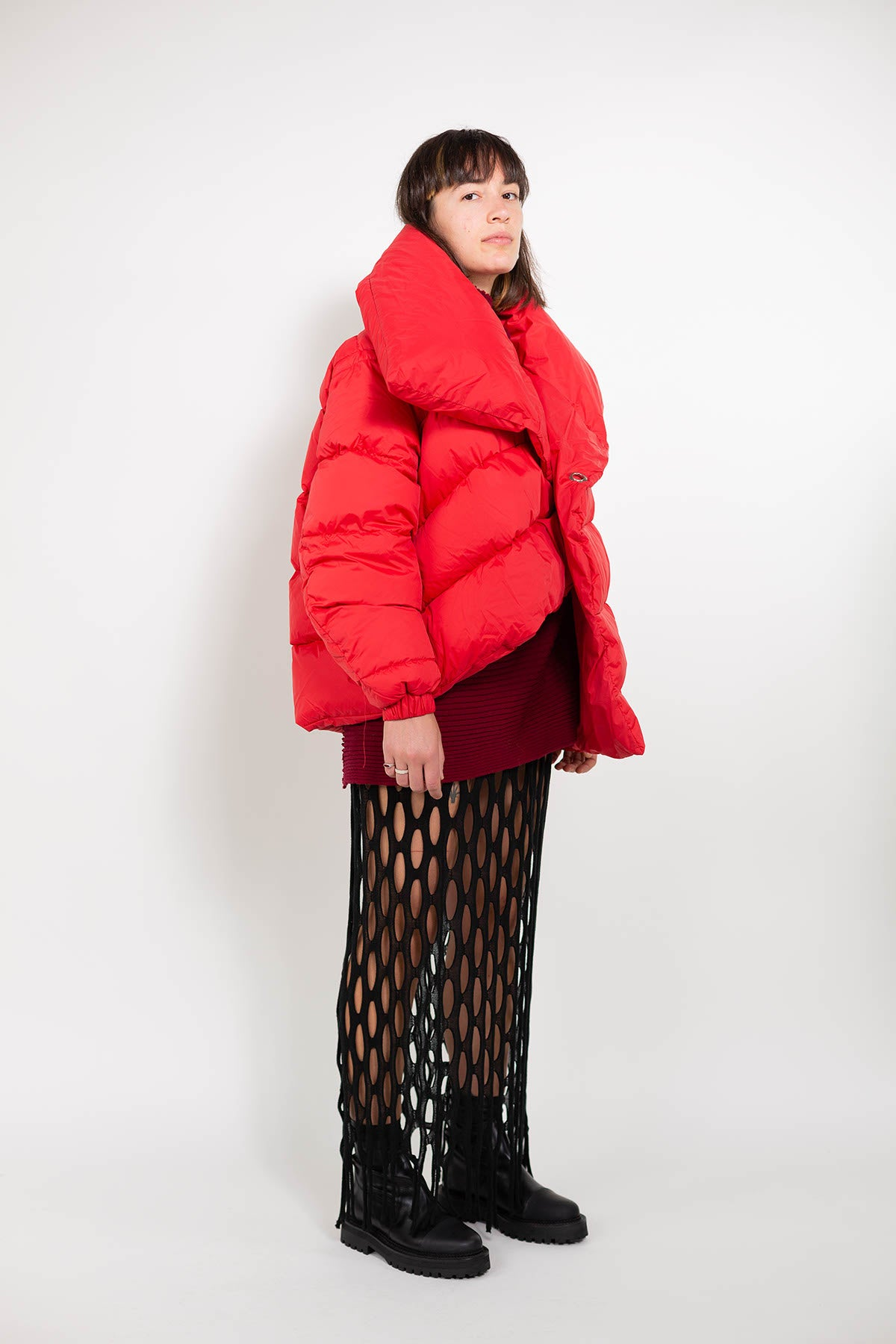 CLASSIC M'A RED PUFFA JACKET