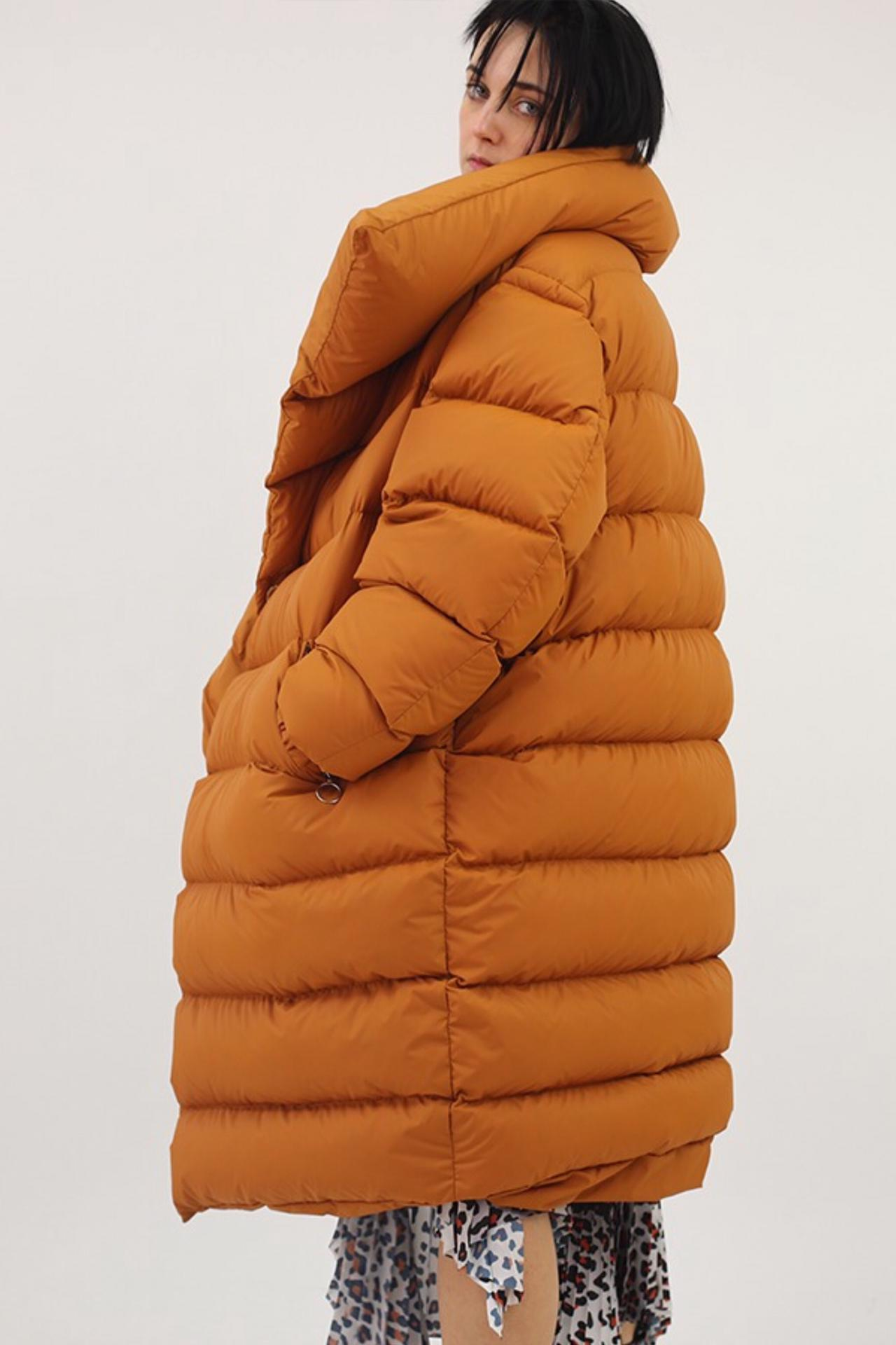 M'A BROWN PUFFA JACKET