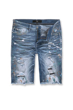 Jordan Craig Shorts - Paint Splatter - Monet - J6809S