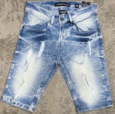 LVPremium Shorts - Ice Blue - 41505
