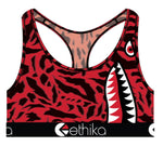 Ethika Sports Bra - Women - Slyme Ball - Red/Black