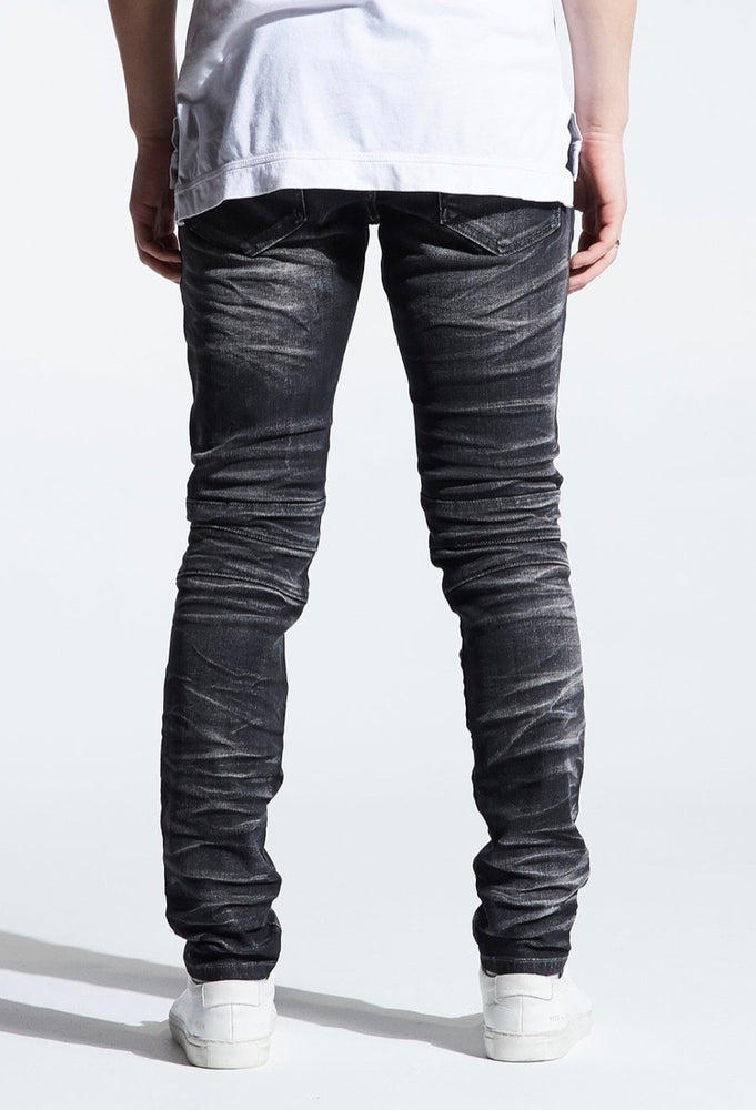 Crysp Denim Jeans - Black Acid Montana - CRYSPF219-112