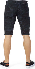 X-Ray Shorts - Navy Camo - XMS-9732