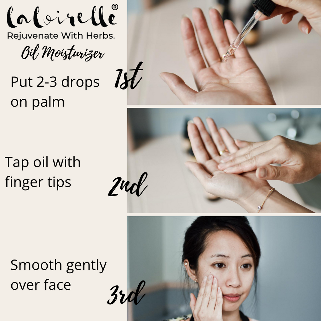 how to use face oil