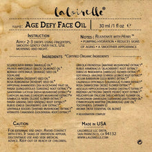 Load image into Gallery viewer, Laloirelle Age Defy Face Oil - Laloirelle LLC