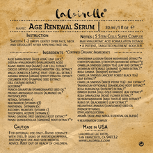 Load image into Gallery viewer, Laloirelle Age Renewal Serum - Laloirelle LLC