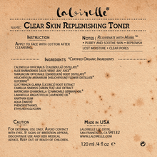 Load image into Gallery viewer, Laloirelle Clear Skin Replenishing Toner - Laloirelle LLC