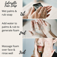 Load image into Gallery viewer, How to use face soap cleanser - Laloirelle