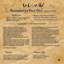 Load image into Gallery viewer, Laloirelle Regenerative Face Oil - Laloirelle LLC