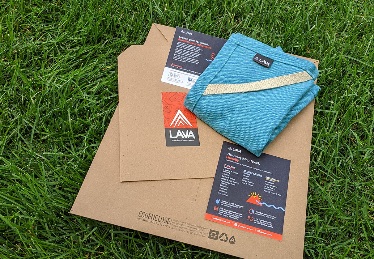 Eco-friendly Packaging at Lava: Reuse, Recycle, and Compost It!