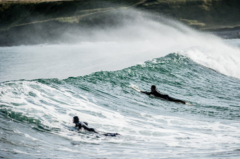 HeiloH - Cullen, Scotland (photo by Cornfield) - Cold Water Surfing