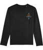 DEFIANT WAVES x BLACK LONG SLEEVE T