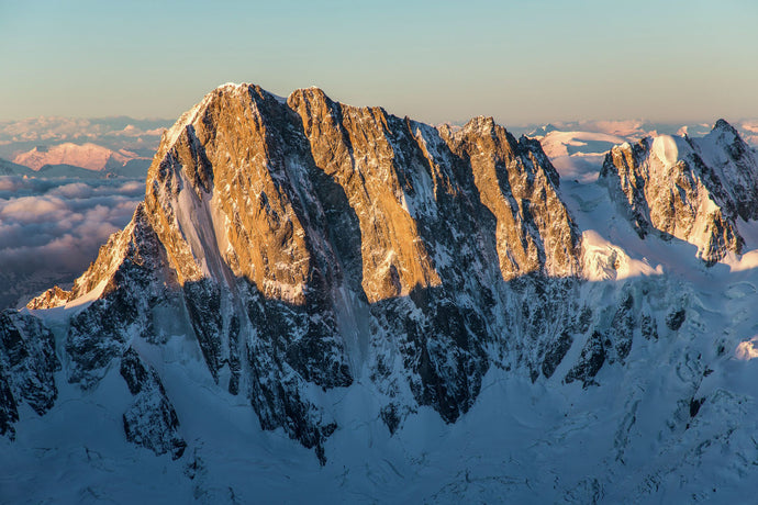 Grandes Jorasses at day break