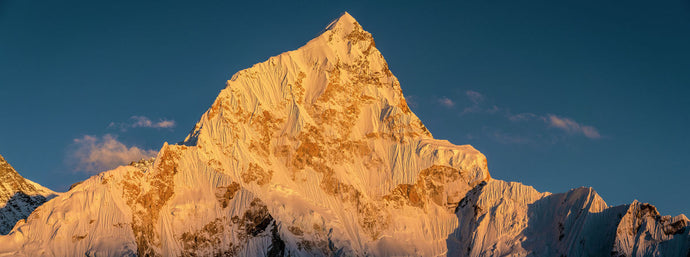 Nuptse's last light