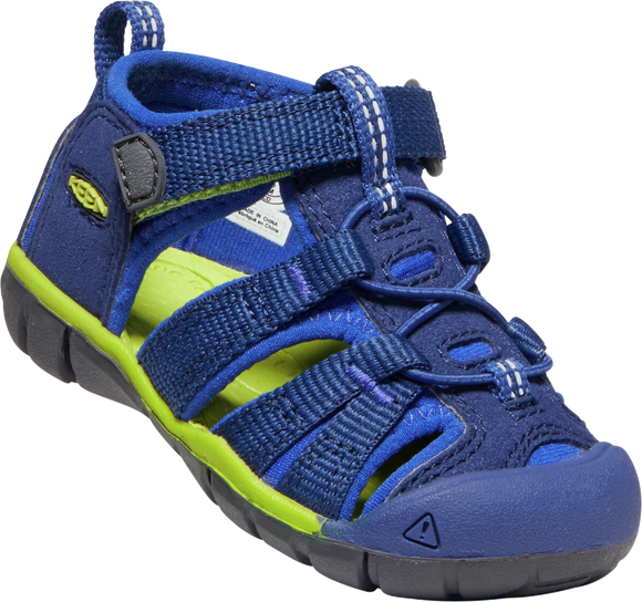 Seacamp  II CNX Blue Depths/Chartreuse (Toddlers)