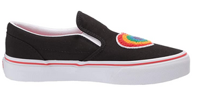 Classic Slip-On Rainbow Heart (Toddlers/Kids)