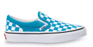 Classic Slip-On Caribbean sea/true white (Kids)